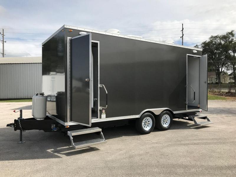 6 Station Shower Trailer Private Suites