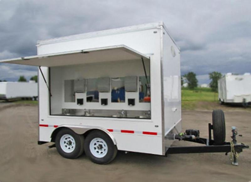 8 Station Hand Wash Trailer