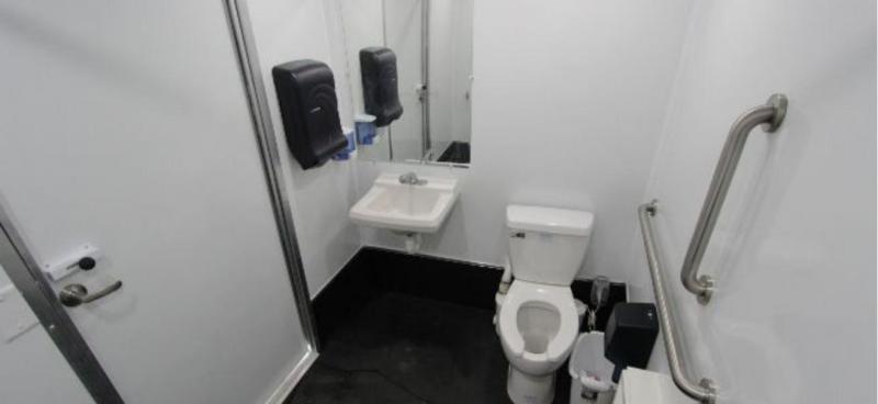 1 Station ADA Compliant Restroom Shower Trailer 12'
