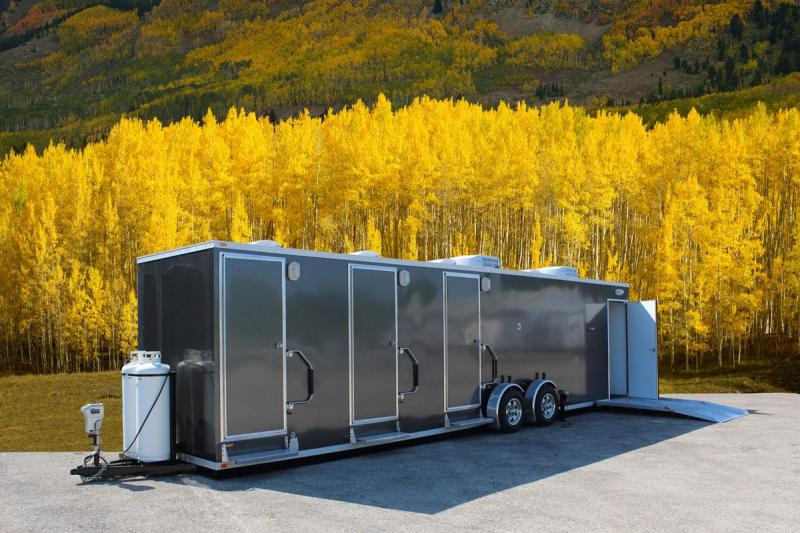 4 Station - ADA +3 Compliant Restroom Shower Trailer Combo