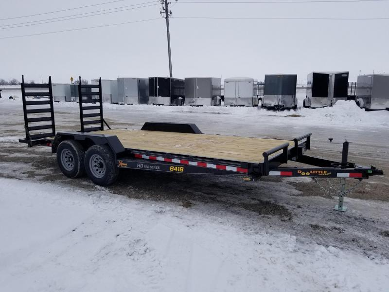 2020 Doolittle Trailer Mfg 84X18 10K Extreme Equipment Trailer
