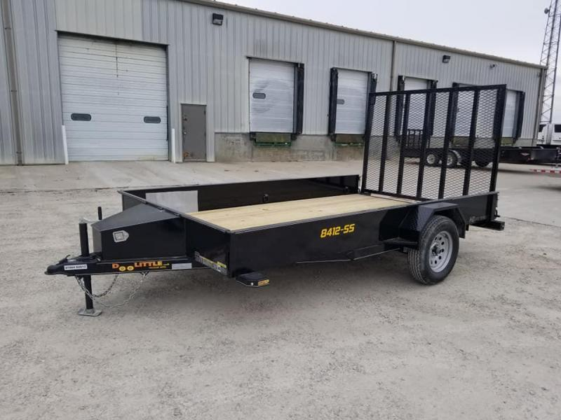 2021 Doolittle Trailer Mfg SS84X12 Utility Trailer