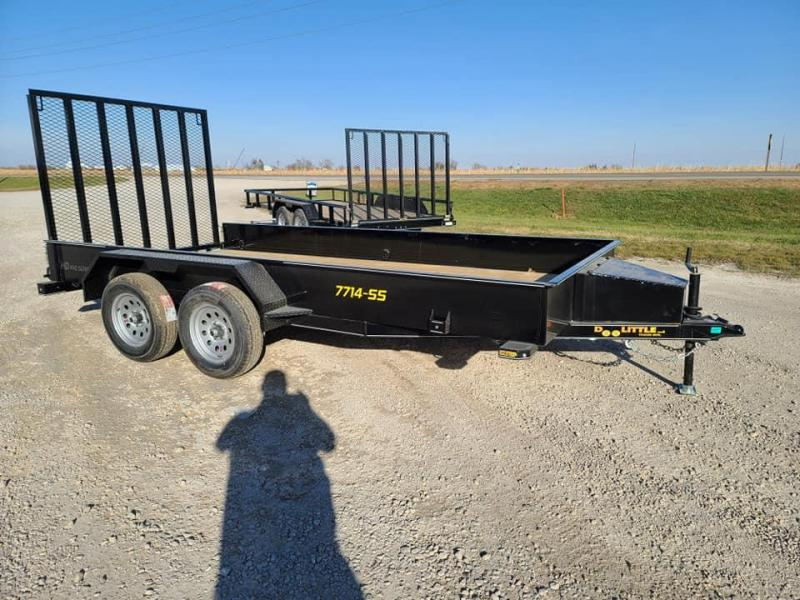 2021 Doolittle Trailer Mfg SS77X14 Tandem Axle Utility Trailer