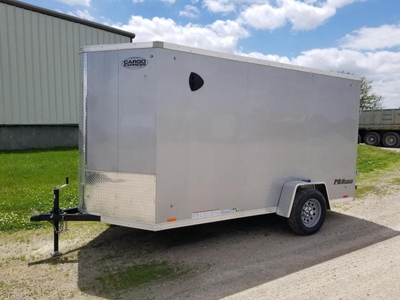 2021 Cargo Express Pro Series 6x12 Enclosed Cargo Trailer