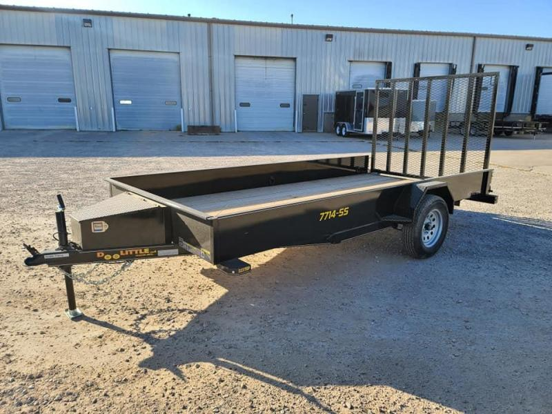2021 Doolittle Trailer Mfg SS77x14 Utility Trailer