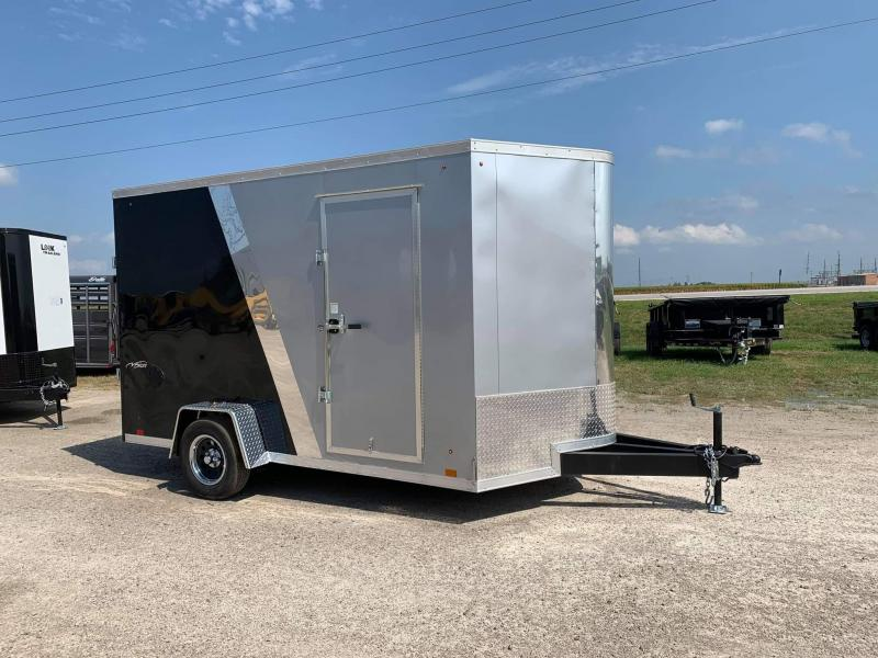 2022 Look Trailers 7x12 Vision Enclosed Cargo Trailer
