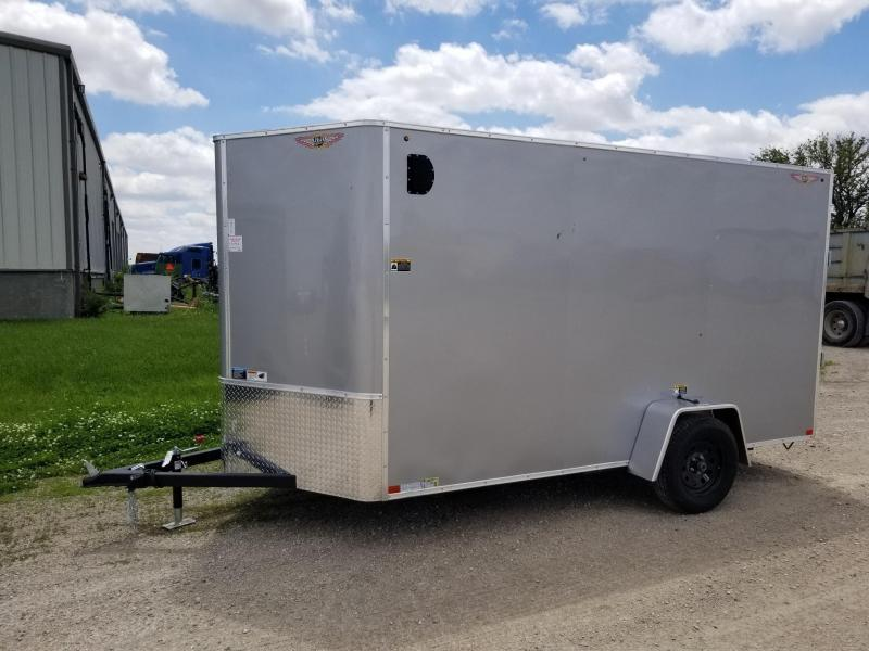 2020 H and H Trailer 6X12 Enclosed Cargo Trailer