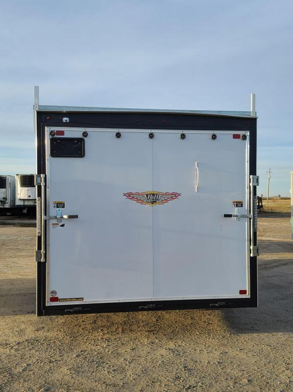 2021 H and H Trailer 8x16 10k Enclosed Cargo Trailer