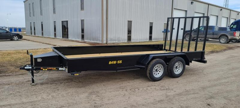 2021 Doolittle Trailer Mfg SS84x16 Utility Trailer