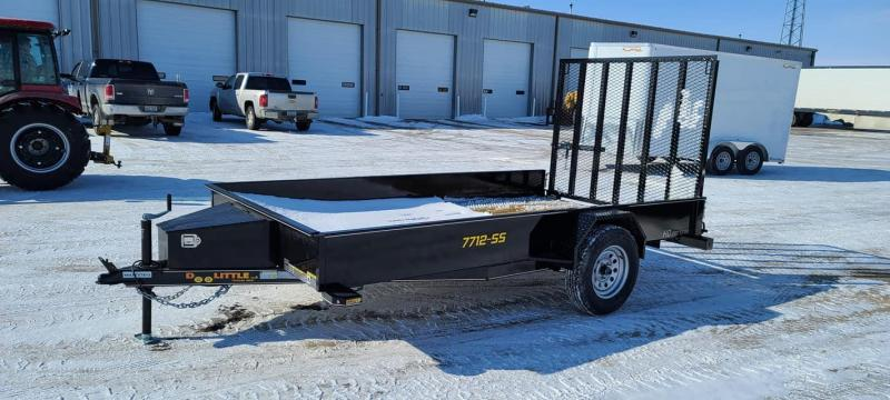 2021 Doolittle Trailer Mfg SS77x12 Utility Trailer