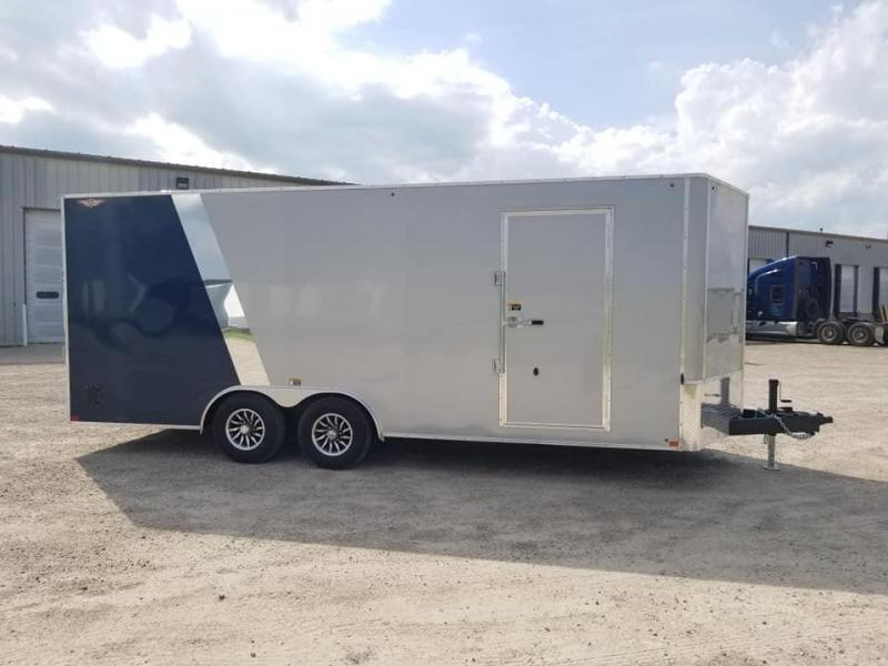 2020 H and H Trailer 8.5x20 10k Enclosed Cargo Trailer