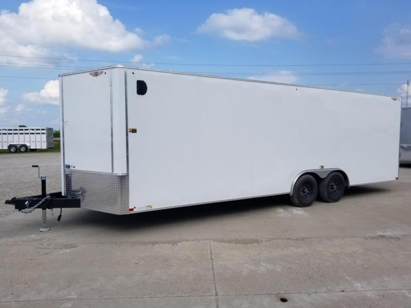 2020 H and H Trailer 8.5x24 10k Enclosed Cargo Trailer