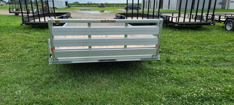 2021 H&H Trailers 82X12 Solid Side Aluminum Utility Trailer