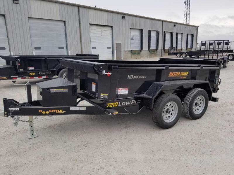 2020 Doolittle Trailer Mfg 72x10 7k Master Dump Dump Trailer