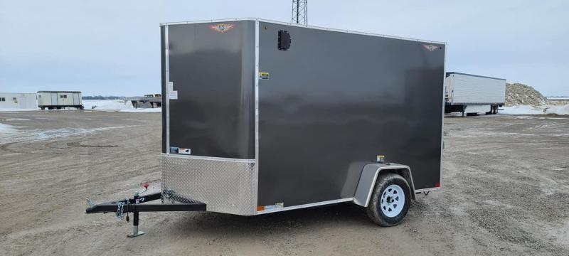 2021 H and H Trailer 6x10 Enclosed Cargo Trailer