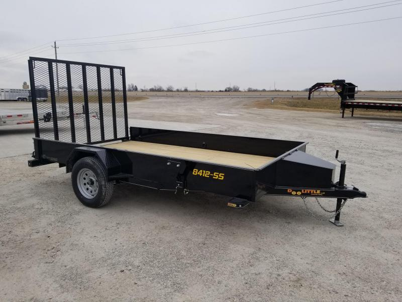 2020 Doolittle Trailer Mfg SS84x12 Utility Trailer