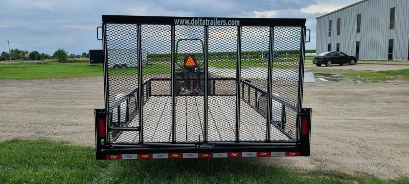 2020 Delta Manufacturing 76x12 Utility Trailer