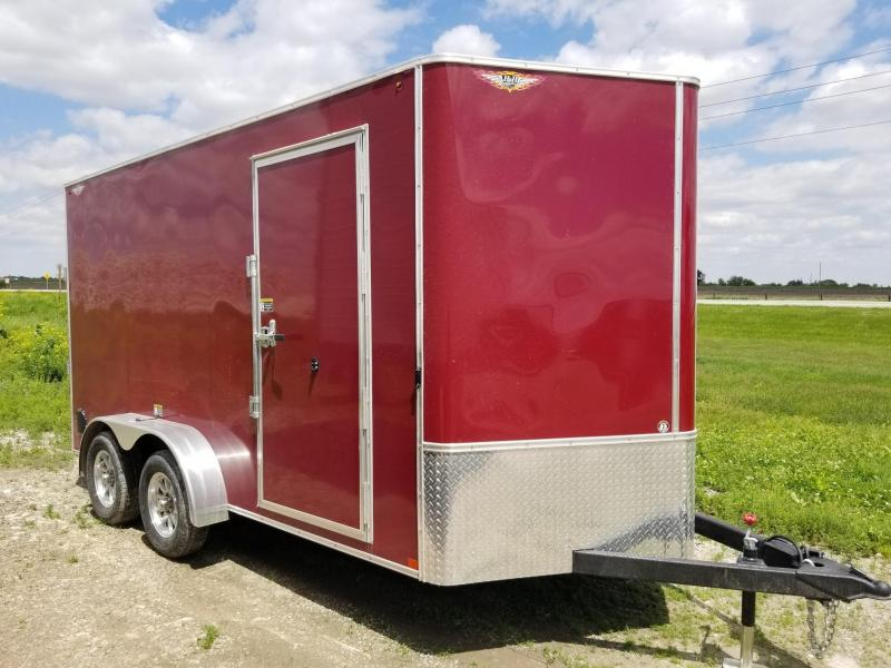 2020 H and H Trailer 7X14 Enclosed Cargo Trailer