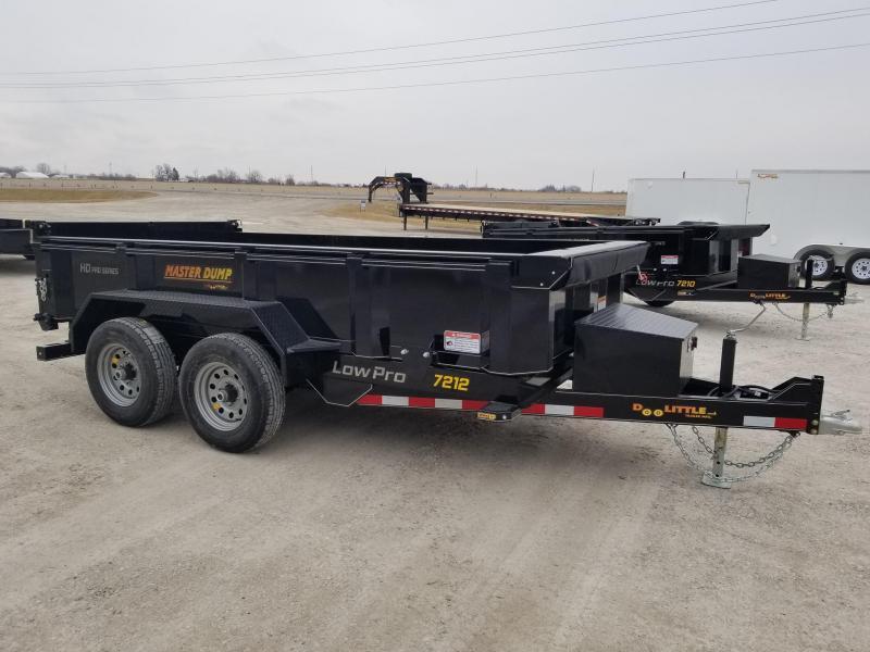 2020 Doolittle Trailer Mfg 72X12 10k Master Dump Dump Trailer