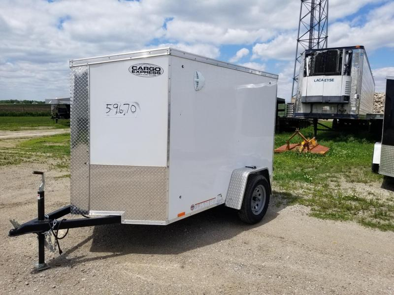 2021 Cargo Express XLW SE 5x8 Enclosed Cargo Trailer