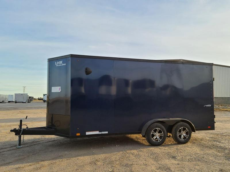 2022 Look Trailers 7x16 Vision Enclosed Cargo Trailer