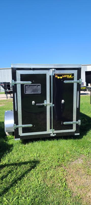 2022 Doolittle Trailer Mfg 5x8 Bullitt Enclosed Cargo Trailer