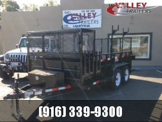 2020 R&J Trailers Inc Custom Landscape Utility Trailer