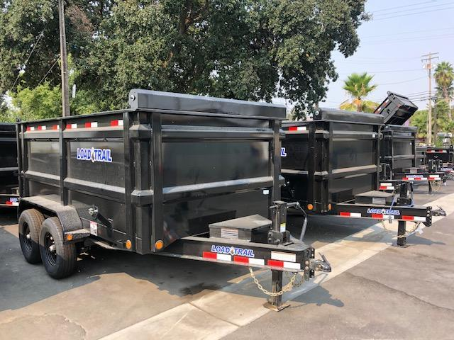 "2021  Load Trail 83"" X 16' Tandem Axle Dump Dump Trailer"