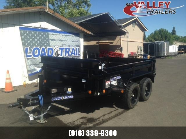 20201Load Trail 72 X 10 Tandem Axle Dump Dump Trailer