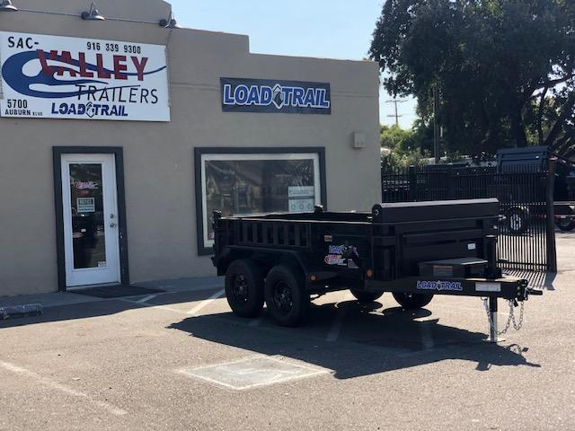 2021 Load Trail 60 X 10 Tandem Axle Dump Dump Trailer