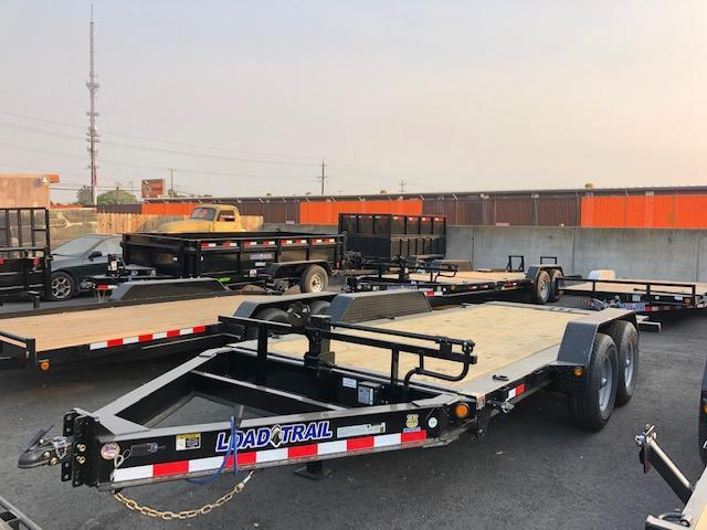 "2021 Load Trail 83"" X 18' Tandem Axle Tilt Trailer 14k"