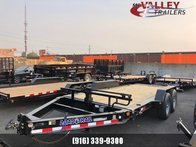 2021 Load Trail TH8316072 Equipment Trailer