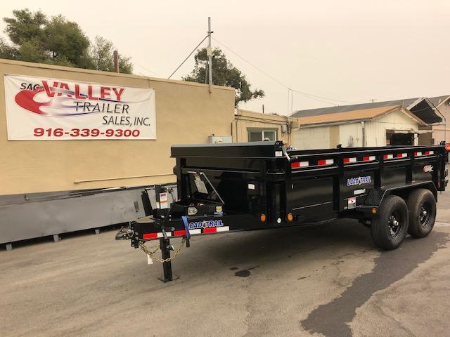 "2021 Load Trail 83"" X 14' Tandem Axle Dump Trailer 14k"