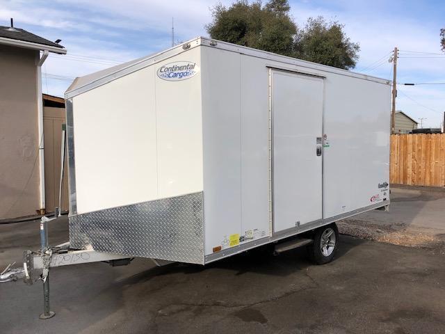 2020 Continental Cargo Crossbow Snowmobile Trailer