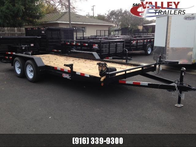 2020 R&J Trailers Inc CarHauler 7k Flatbed Trailer