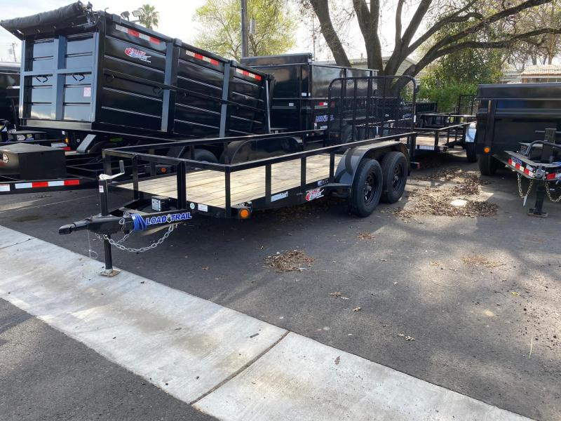 2020 Load Trail 7k Tandem Axle Utility Trailer