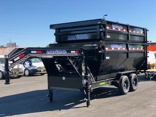 "2021 Load Trail Roll Off Gooseneck Dump 83"" X 14' 14k"