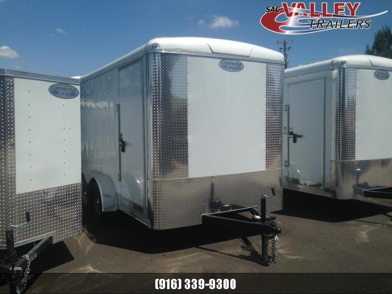 2020 Continental Cargo TW712TA2 Enclosed Cargo Trailer