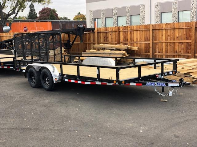 "2021 Load Trail 83"" X 16' Tandem Axle Utility Trailer 7K"