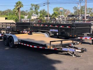 "2021 Load Trail Tandem Axle Utility Trailer 83""x20' 7K"