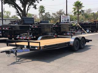 """2021 Load Trail Tandem Axle Trailer 83""""x18' 7K"""