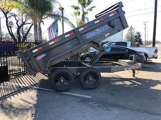 """2021 Load Trail 83"""" X 12' Tandem Axle Dump Trailer 14k"""