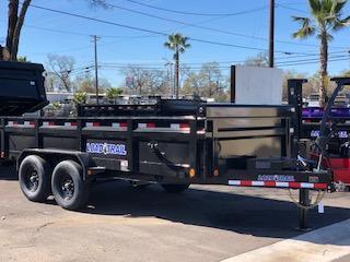 """2021 Load Trail 83"""" X 16 Tandem Axle Dump 14k"""