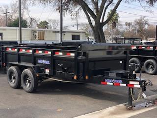 "2022 Load Trail 83"" X 14' Tandem Axle Dump Dump Trailer"