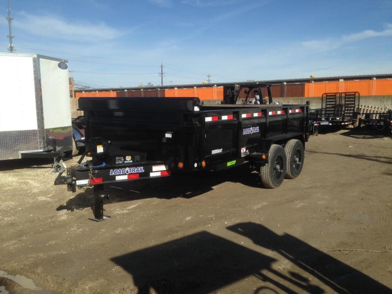 "2021 Load Trail 83"" X 14' Tandem Axle Dump Dump Trailer"