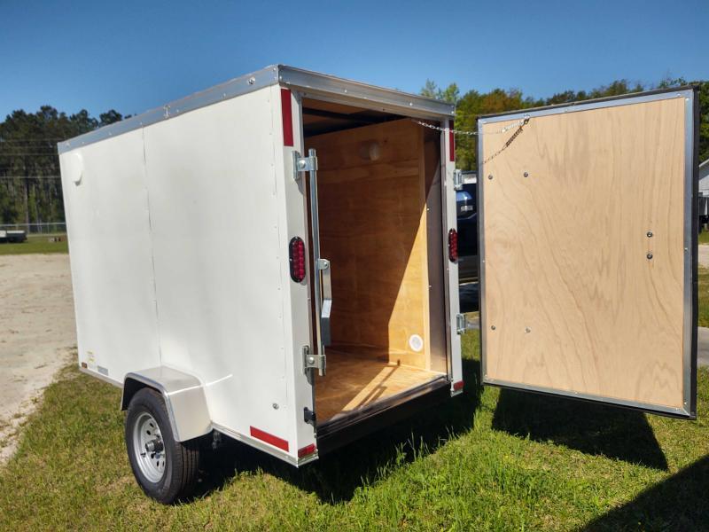 2021 Diamond Cargo 4x8 Single Axle Enclosed Cargo Trailer