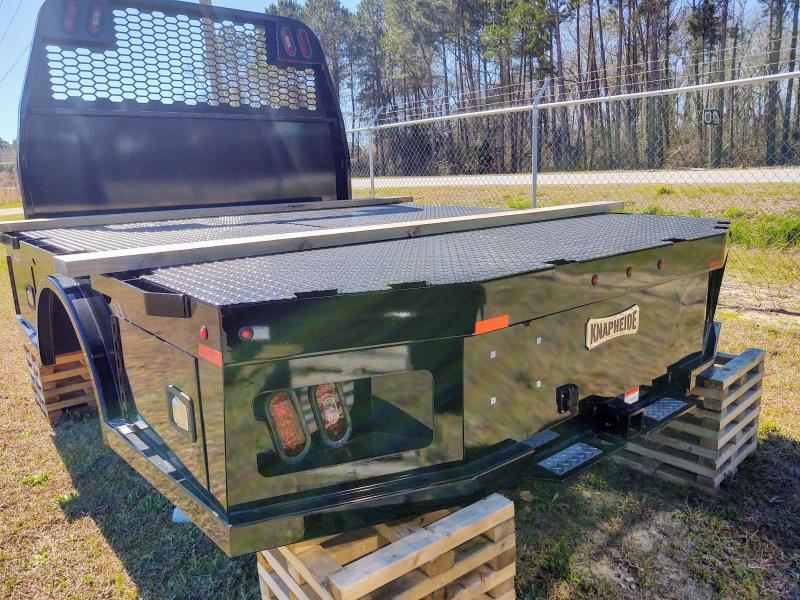 "KNAPHEIDE PGNC-96-MD DRW GOOSENECK HAULER BED 60"" CA CHEVY MEDIUM DUTY CHASSIS"