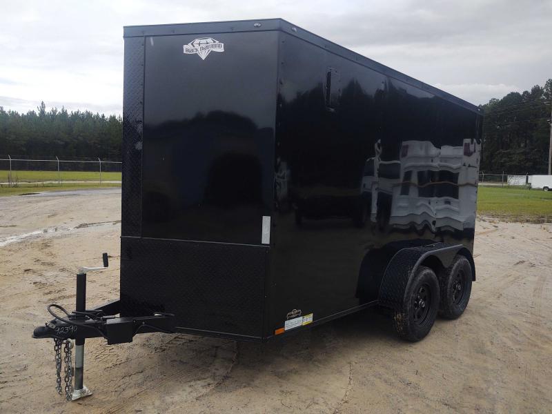2022 Diamond Cargo 6X12 Tandem Axle BLACK OUT Enclosed Cargo Trailer