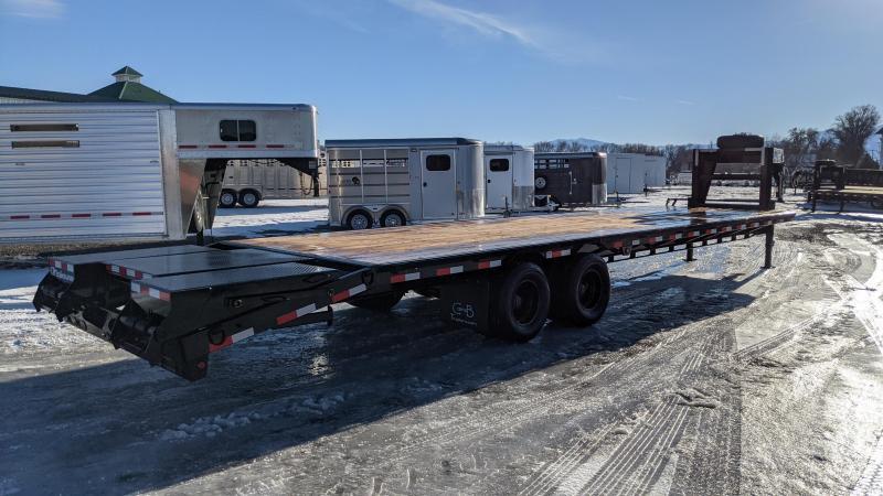 New! 2021 C&B 34' 24k Gooseneck Equipment Trailer