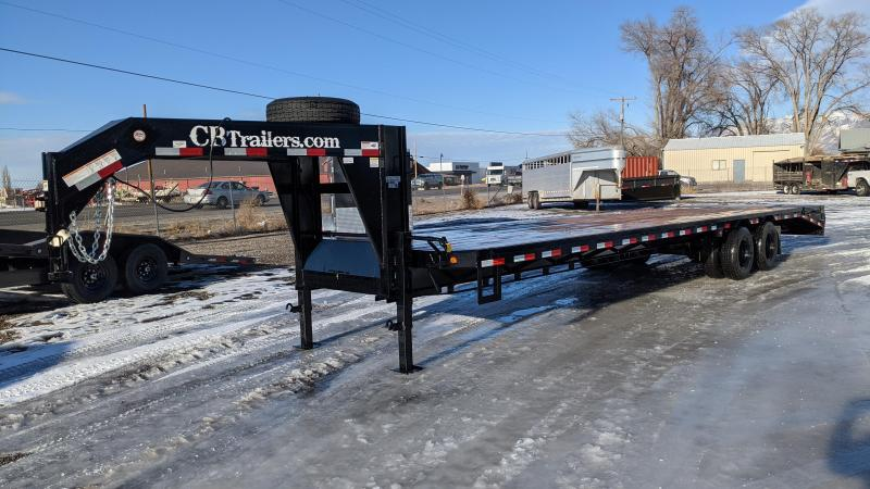 New! 2021 C&B 34' 24k Gooseneck Equipment Trailer